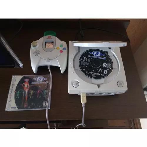 Sega dreamcast americano completo + game