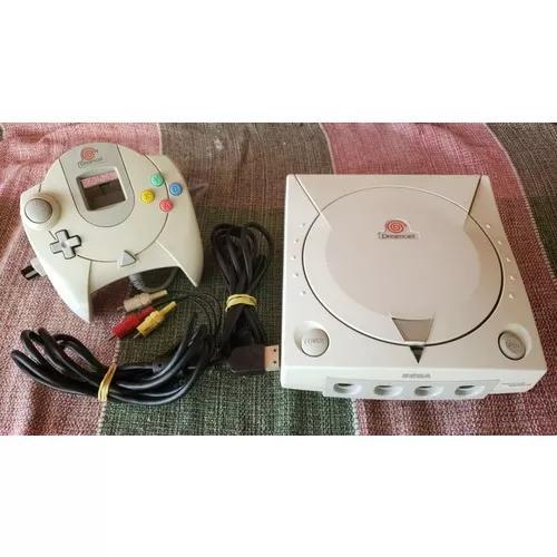 Sega dreamcast console japonês funcionando 100%