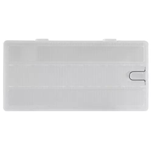 Transparente bateria caso titular plástico armazenamento