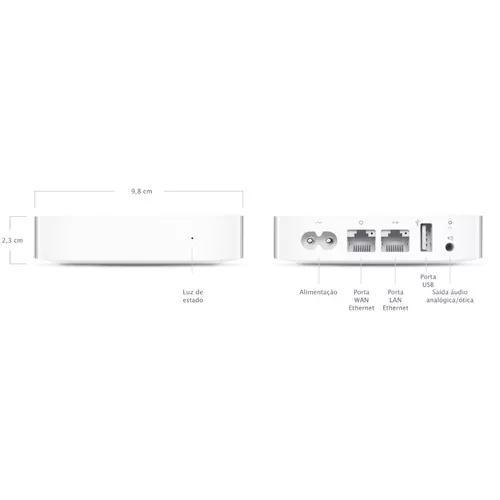 Apple airport express a1392 roteador e repetidor,