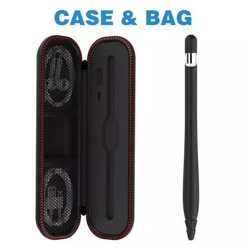 Case protetor contra batidas + capa silicone apple pencil 3