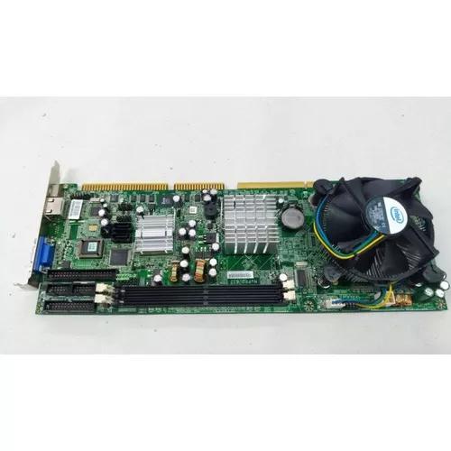 Kit placa mãe industrial core 2 duo 2gb nupro-852 isa / pci