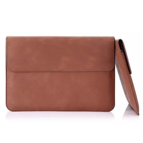 Macbook air pro 13.3 apple asus moko bolsa case pasta couro