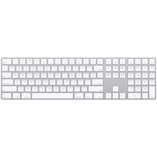 Teclado apple magic branco mq052lz teclado numérico