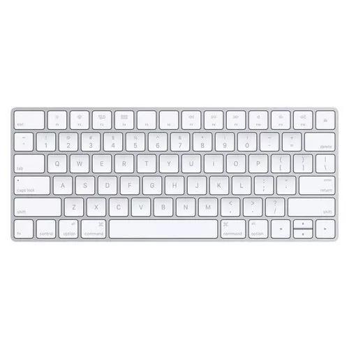 Teclado magic keyboard apple para mac, bluetooth - mla22bz/a