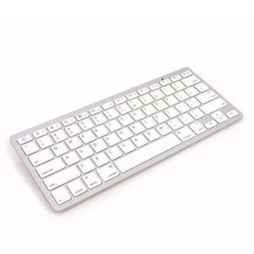 Teclado padrão apple bluetooth imac macbook iphone - branco