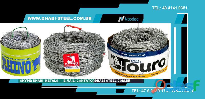 Arame Galvanizado   Dhabi Steel
