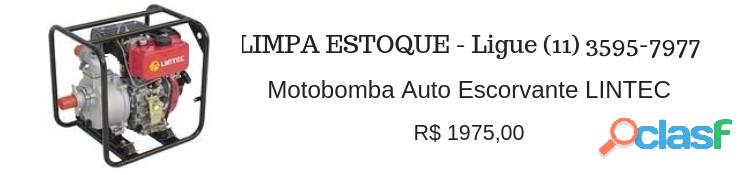 Preço imperdível motobomba lintec (novo)