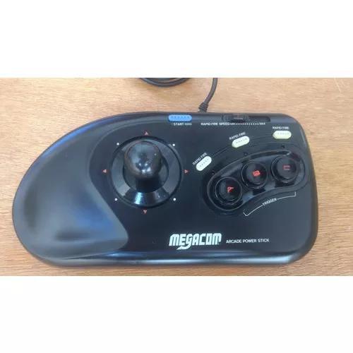Controle arcade mega drive perfeito frete gratis 12x s/ juro