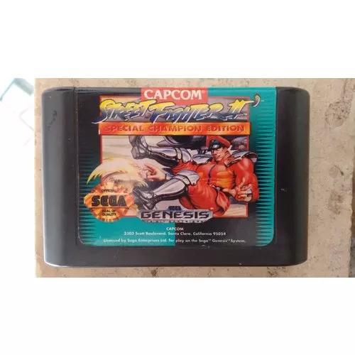 Fita de video game mega drive original street fight