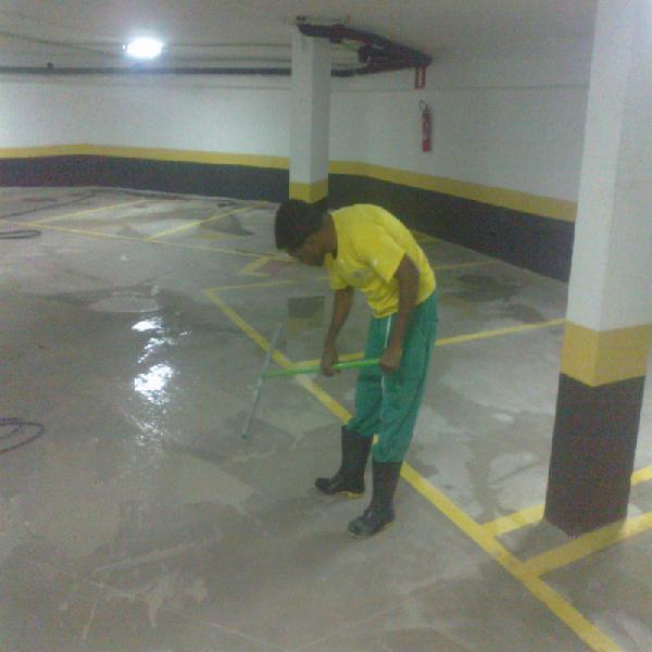 Limpeza profissional de garagens em belo horizonte