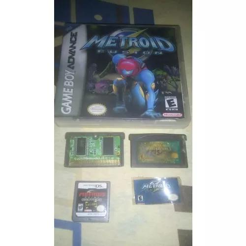 Metroid fusion + metroid fist hunt