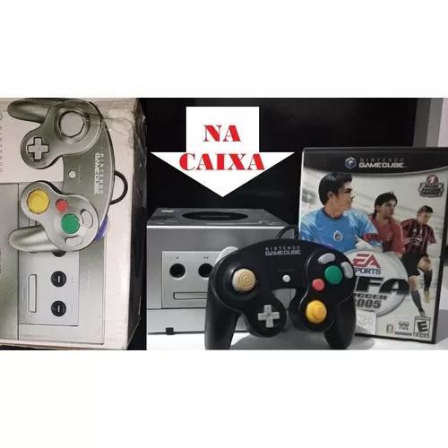 Nintendo Gamecube Na Caixa + 1 Jogo