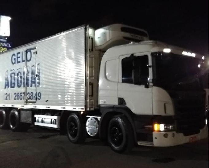 Scania p310 8x2 opticruise, completa,bitruck automatico