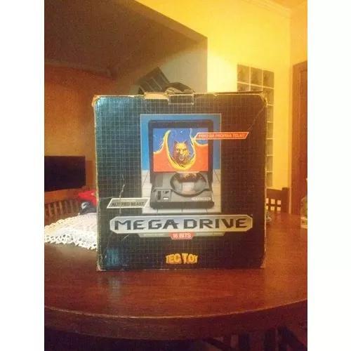 Video game mega drive tectoy completo (leia a descrição)