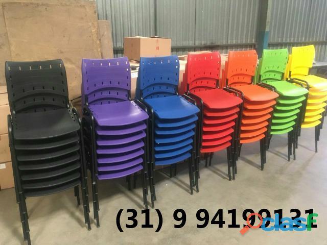 Cadeiras varias cores novas entrega gratis