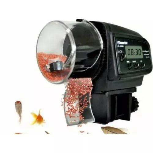 Alimentador de peixes automático