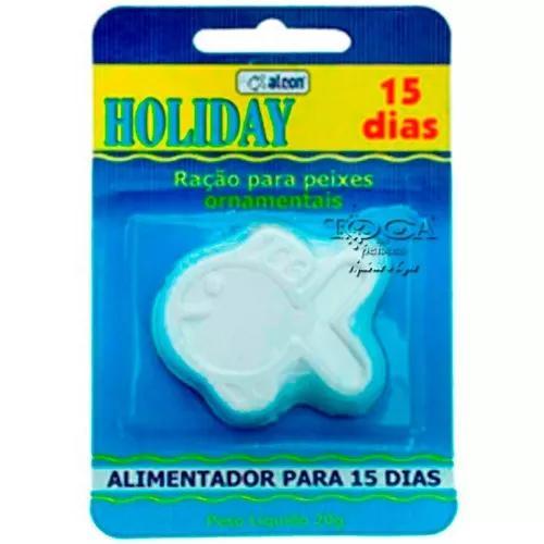Ração alcon holiday férias - 15 dias