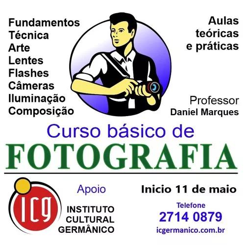 Curso de fotografia presencial