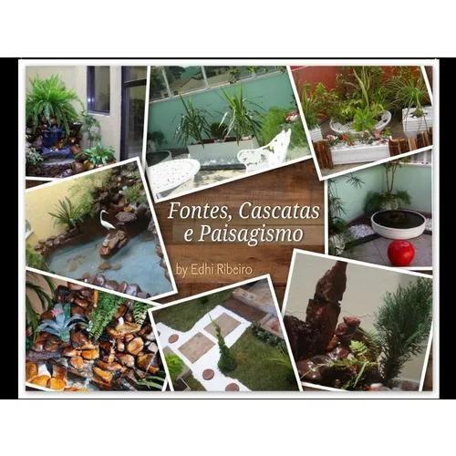 Fontes, cascatas e paisagismo