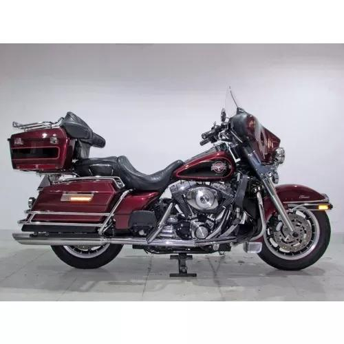 Harley-davidson electra glide classic 2002 vermelha