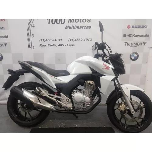Honda cb 250 twister 2016 otimo estado aceito moto