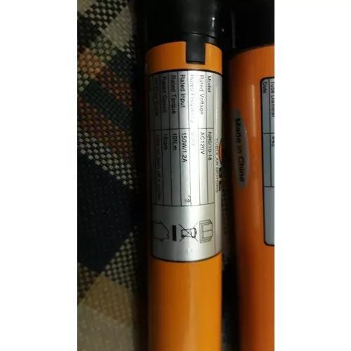 Motor Tubular P/ Persianas Nr0/ 10-18 E Outro Nr1/50-12r