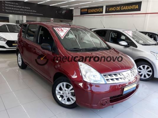 Nissan livina s 1.6 16v flex fuel mec. 2013/2013