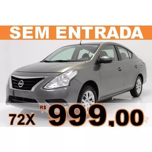 Nissan versa 1.6 16v flexstart sv 4p xtronic s