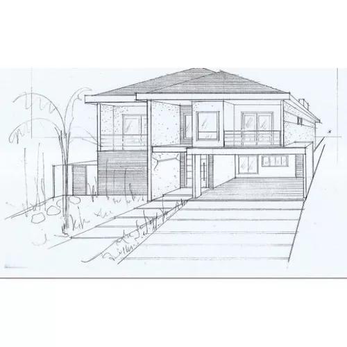 Projeto residencia assobradada + tutorial para aprovação