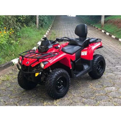 Quadriciclo can am 570 max 2018 4x4 (02 pessoas)