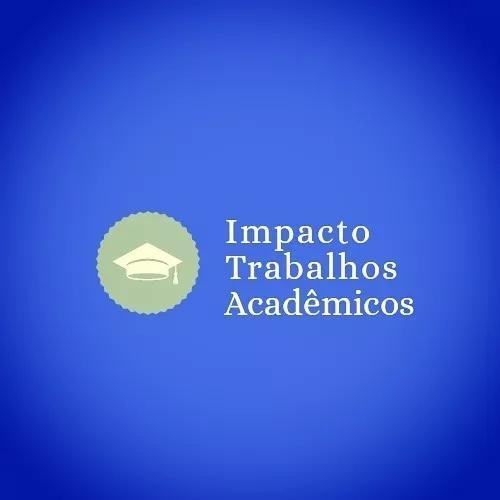 Trabalhos acadêmicos, tccs e artigos