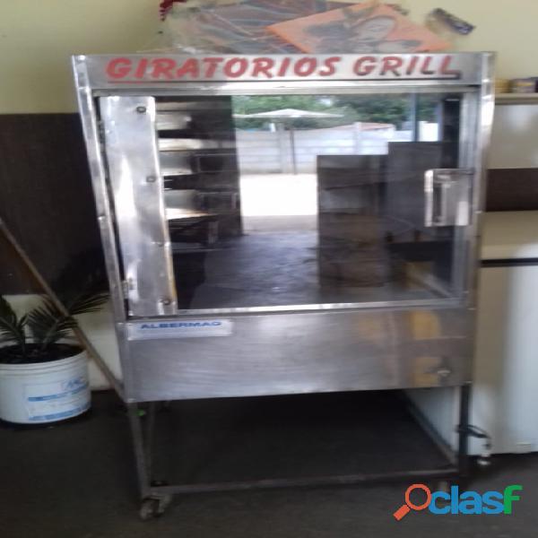 Maquina de assar frango (indicação)