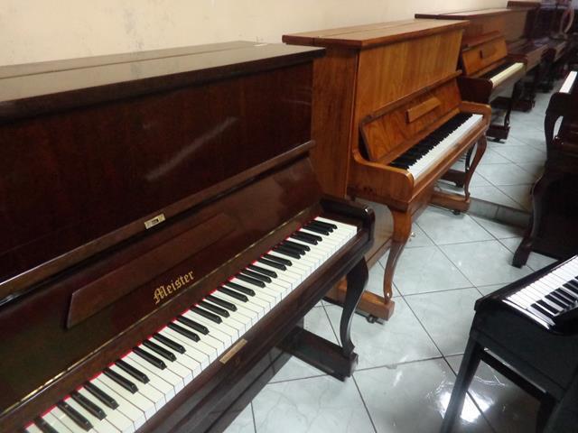 Pianos verticais e cauda - rj