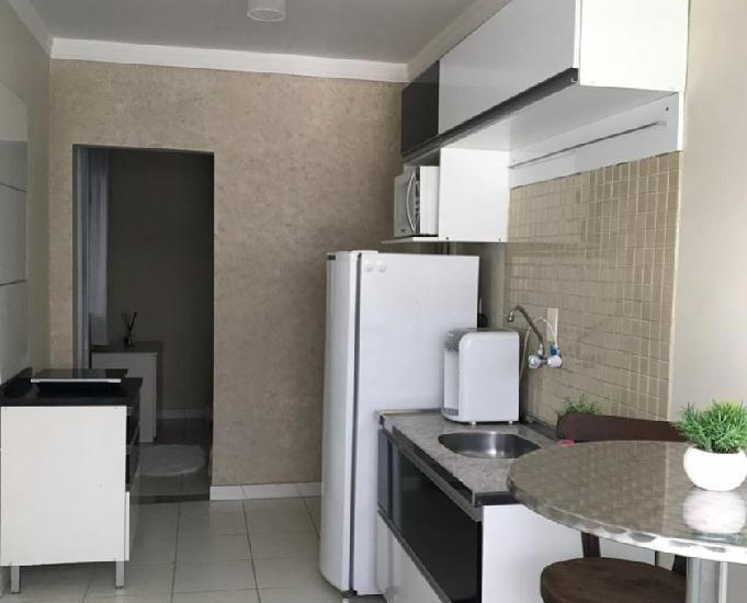 Aluguel apartamento compacto de 1 quarto no centro de bc