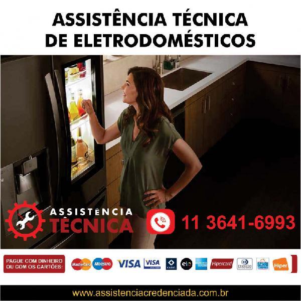 Assistência técnica de eletrodomésticos nacionais e
