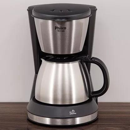 Cafeteira elétrica philco inox 14 t