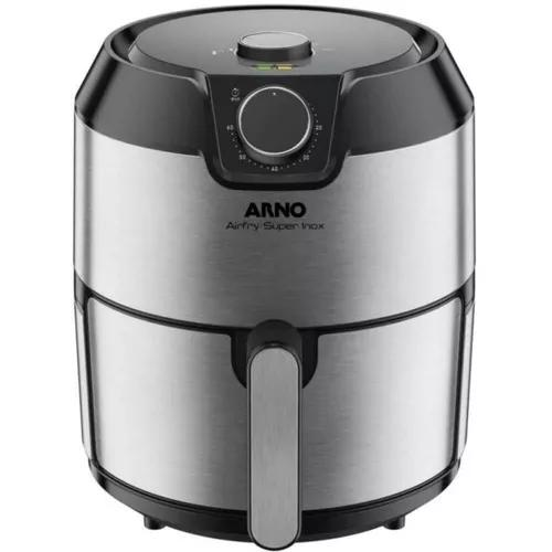 Fritadeira air fry arno inox 110v super capacidade 4,2 litrs