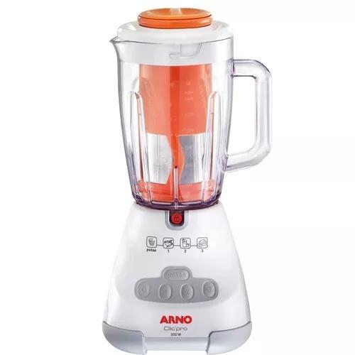 Liquidificador arno clic'pro juice 1,5l, 3 veloc branco 220v