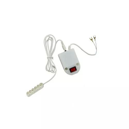 Luminária lâmpada 6 led máquina costura - bivolt