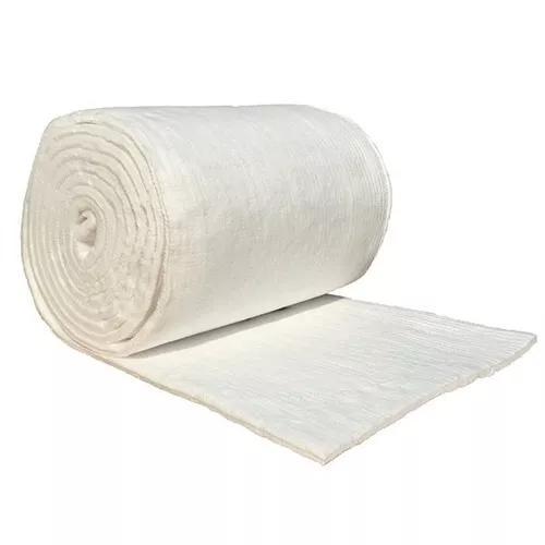 Manta de fibra cerâmica pra forno e forja 1.260ºc - 1 m²