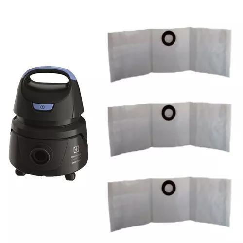 Saco p/ aspirador de pó electrolux hidrolux awd01 kit c/ 9