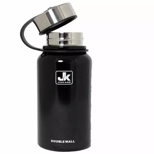 Garrafa térmica aço inox vacuum bottle 610ml gelado