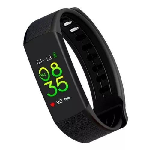 Smartwatch com monitoramento cardíaco qtouch com bluetooh
