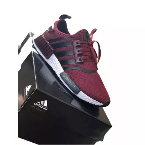 Tênis adidas nmd runner r1 leve par de meias grátis