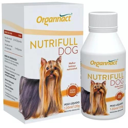 2 x nutrifull dog pet 120ml organnact 120 ml pet shop store