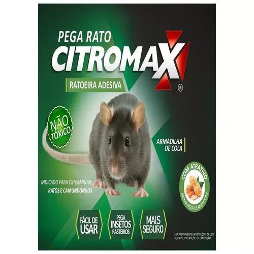 4 cartelas mata ratos camund. melhor q veneno / frete