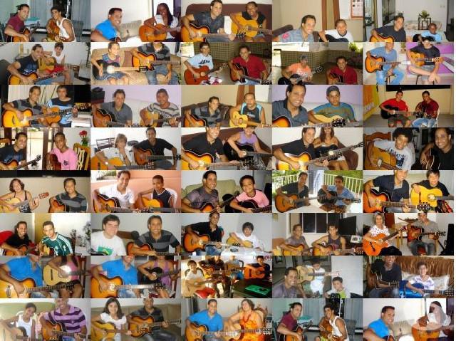 Aulas de violão a domicílio