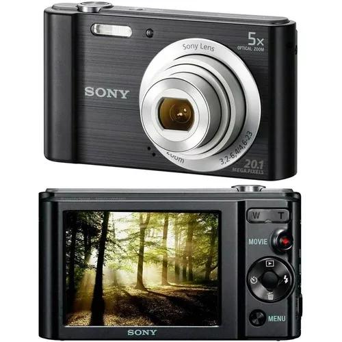 Camera digital sony w800 cyber shot 20,1 mp+frete incluso