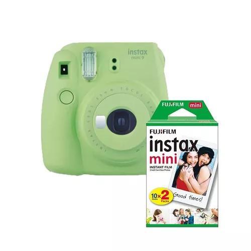 Camera fotografica instantanea instax mini 9 +20 filmes
